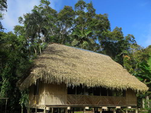 COFAN LODGE OF INDIGENOUS COFANS OF ECUADOR [7 DAYS ITINERARY]: Cofan Lodge, Cuyabeno.