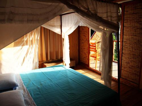 DE AMAZONE RIVIER, ECUADOR: Comfortable rooms at the Cuyabeno Lodge.