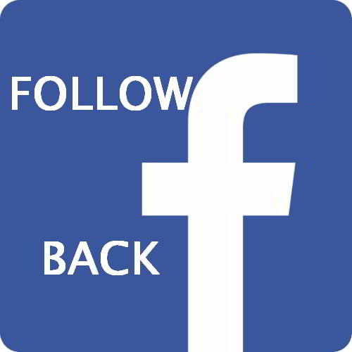 Follow us on Facebook and we always Follow you back