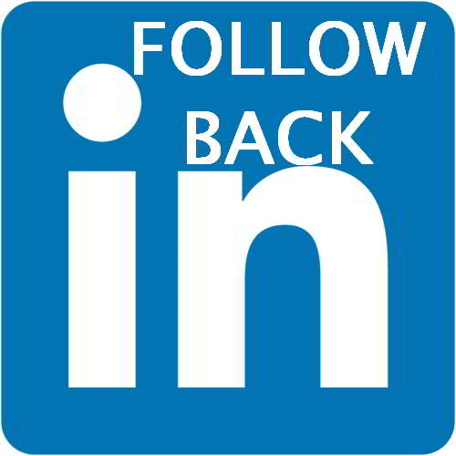 Follow us on Linkedin and we always Follow you back