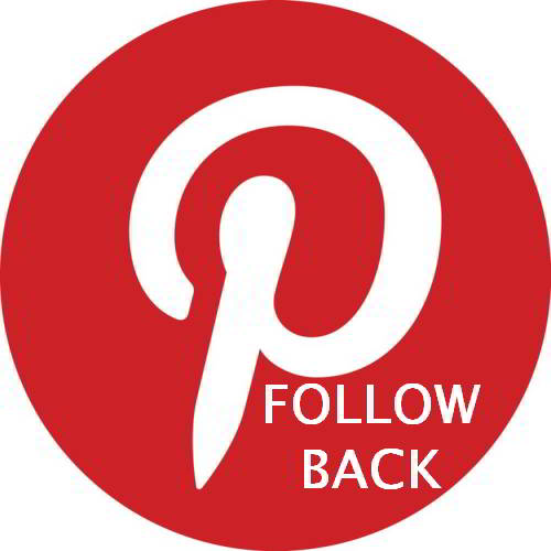 Follow us on Pinterest and we always Follow you back