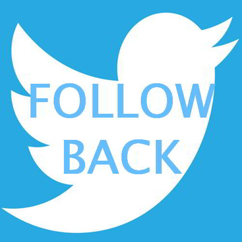 Follow us on #Twitter and we always Follow you back #F4F